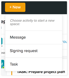 Using-SignSpace-start-new-space