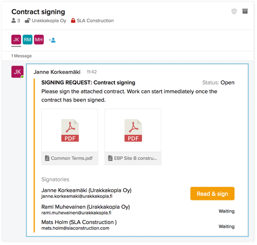 Using-SignSpace-signing-request-first