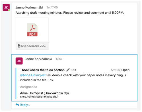 Using-SignSpace-task-inline-reply