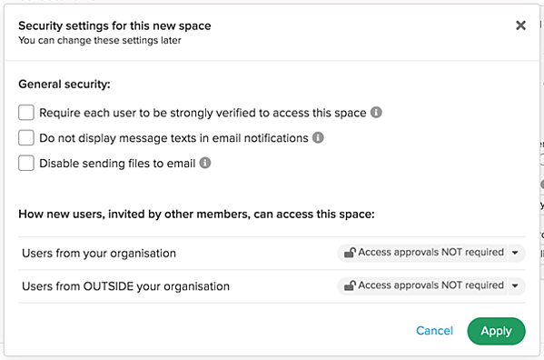 security-settings-in-space
